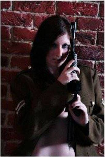viewer uniform props gun glamour Simon Q. Walden, FilmPhotoAcademy.com, sqw, FilmPhoto, photography