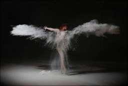 flour powder dust wet plastic Simon Q. Walden, FilmPhotoAcademy.com, sqw, FilmPhoto, photography